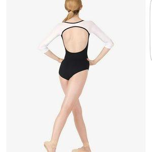 Natalie Dancewear Other - Ballet Leotard Adult Mesh 3/4 Sleeve